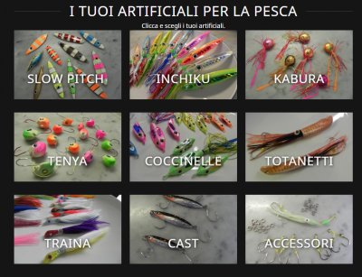 Artificiali Talisman Lures