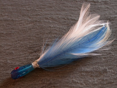SALTAPICCHIO 12 cm feather    copia